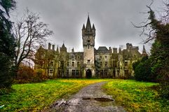 Abandoned castle Stock Photo