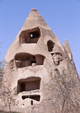Abandoned Cave Dwelling in Cappadocia Royalty Free Stock Photography