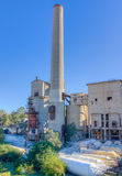Abandoned cement factory Royalty Free Stock Photos