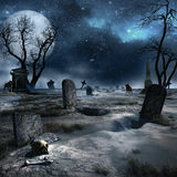 Abandoned cemetery Royalty Free Stock Photography