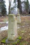 Abandoned cemetery Stock Photo