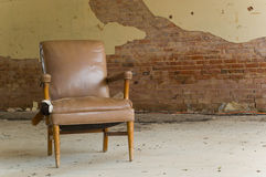 Abandoned Chair royalty free stock photography