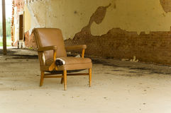 Abandoned Chair Royalty Free Stock Image