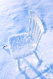 Abandoned chair Royalty Free Stock Photo