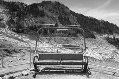 Abandoned chairlift in Whistler mountains. British Columbia. Can Stock Photos