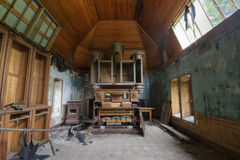 Abandoned Chapel Stock Photo