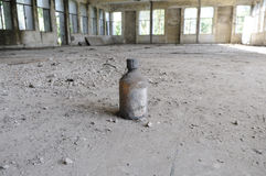 Abandoned chemical lab. Royalty Free Stock Photography