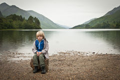 Abandoned child Stock Photography