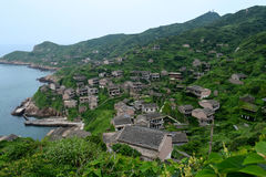 Abandoned Chinese village Royalty Free Stock Photos