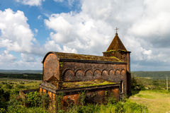 Abandoned Christian Church, Phnom Bokor Kampot Province Oct 2015. Old Christian Church on the top of Phnom Bokor royalty free stock photos
