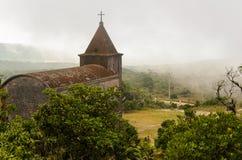 Abandoned christian church Stock Photography