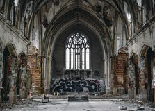 Free Abandoned Church Stock Images - 52863144