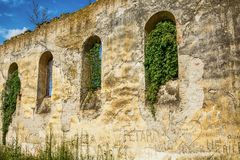 Abandoned church in Banostor from Serbia royalty free stock photography