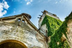 Abandoned church in Banostor from Serbia royalty free stock image