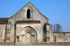 Abandoned Church in Bourgogne Royalty Free Stock Images