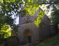 Abandoned church. Galicia,  Spain Royalty Free Stock Images