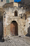 Abandoned church of Matera. Basilicata. Italy. Royalty Free Stock Photography