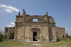 Abandoned church in Monterano Royalty Free Stock Photo
