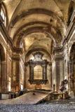 Abandoned church outside Stock Image