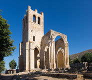 Abandoned of the  Church of Santa Eulalia in Palenzuela Royalty Free Stock Images