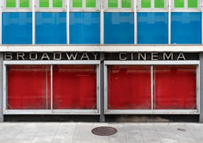 Abandoned cinema Stock Images