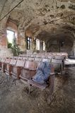 Abandoned cinema - Piedmont, Italy Stock Image