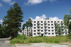 Abandoned city, Czech Republic Stock Photos