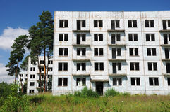 Abandoned city, Czech Republic Stock Photo