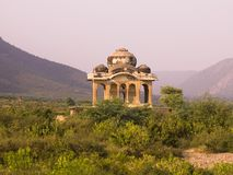 Abandoned City Of Fatehpur. Aravalli Hills, Rajasthan, India Royalty Free Stock Photography