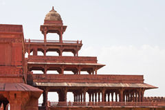 Abandoned city of Fatehpur Sikri, Rajasthan Royalty Free Stock Photo