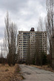 The abandoned city of Pripyat, Chernobyl Royalty Free Stock Photos