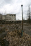 The abandoned city of Pripyat, Chernobyl Royalty Free Stock Images