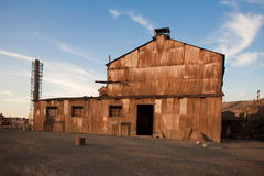 Abandoned City - Santa Laura and Humberstone Stock Photos