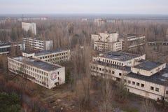 Abandoned city Stock Image