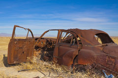 Abandoned Classic Car royalty free stock photography