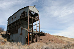 Abandoned coal mine. An abandoned coal mine, shut down in 1943 after an explosion claimed the lives of several miners Royalty Free Stock Photo