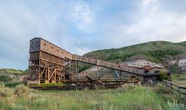 Abandoned coal mine Stock Image