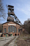 Abandoned coal mine. In Ostrava, Czech republic royalty free stock photo