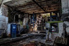 Abandoned Colliery Royalty Free Stock Image