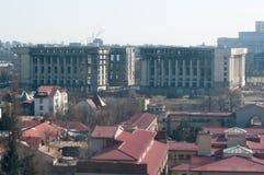 Abandoned communism building 2 Stock Image