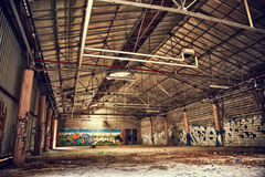 Abandoned complex Royalty Free Stock Images