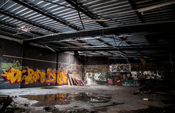 Abandoned complex Royalty Free Stock Photo
