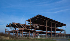 Abandoned Construction Project. As a result of the credit crisis royalty free stock images
