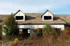 Abandoned Construction Project Royalty Free Stock Photos