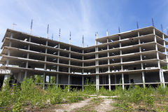 Abandoned construction site Royalty Free Stock Images