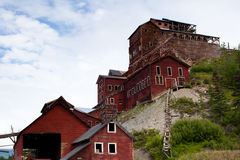 Abandoned copper mine in Alaska Stock Photo