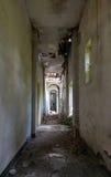 Abandoned corridor Stock Photos