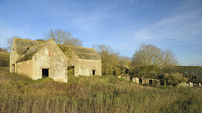 Abandoned Cotswold Farm Stock Image