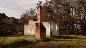 abandoned country house royalty free stock image
