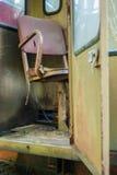 Abandoned crane cabin royalty free stock image